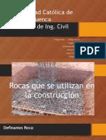 Tipos de Rocas Para Construccion