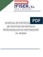 Montaje Sistemas Prov Proteccion Al Borde