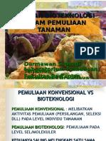 13. Peran Bioteknologi Untuk Pt