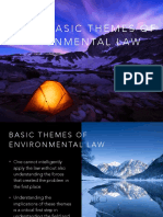 1 Basic Themes of Envi Law