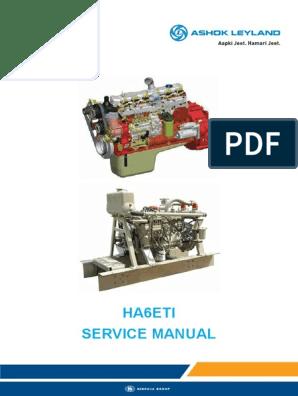 HA6ETI Service Manual | Piston | Cylinder (Engine)