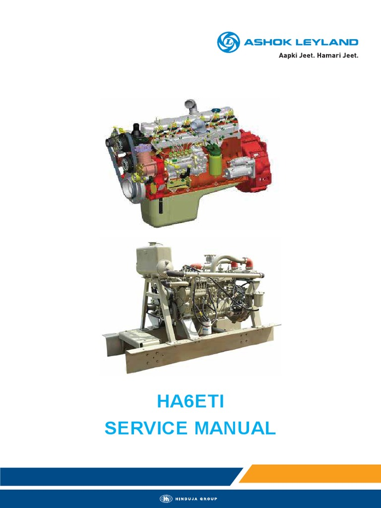 HA6ETI Service Manual | Piston | Cylinder (Engine)