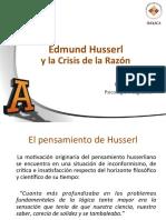 Edmund Husserl y la crisis de la razón