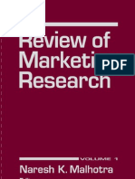 Review of Marketing Research