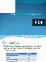 Clase Infecciones Urinarias