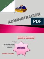 Clase 2 .Administracion