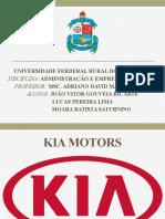 Apresentação Empresa KIA MOTORS