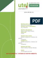 Gestión Ambiental y Sistemas de Gestión Ambiental.