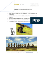 Excercise Easter Island