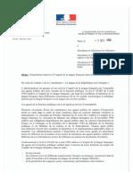 Circulaire Langue Francaise 2016