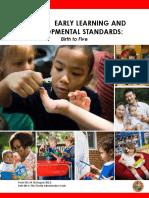 Form OEL-SR 30 Early Learn Dev Stds 06-13-13