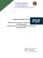 Informe Exp. 6 y 10