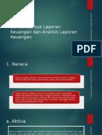 1.5 Bentuk-bentuk Laporan Keuangan Dan Analisis Laporan Keuangan
