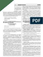 Aprueban la modificación de las Ordenanzas Nºs. 026 y 027-2016/MPH