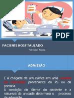 3 Aula - Paciente Hospitalizado