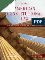 American Con Law V1