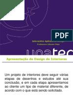 Apresentação Design de Interiores