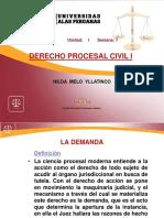 Derecho Procesal Civil 1 Semana 7