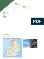 Activities Mauritius