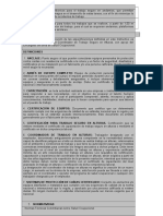 Procedimiento de Trabajo Seguro en Andamios