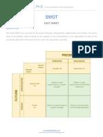 SWOT Fact Sheet