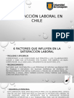 Satisfacción Laboral en Chile