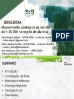48CBG Mapeamento geológico em escala de 1:25.000 na região de Marabá-PA