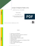 Adaptive Radio Links