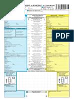 Constat Amiable D'accident Automobile, Fr, PDF