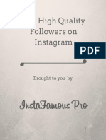 Buy High Quality Followers on Instagram