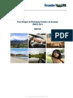 Plan Integral de Marketing Turístico de Ecuador 2014