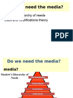 Do we need the media