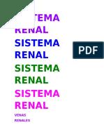 Sistema Renal (1)