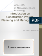 Introduction - Project Planning and Management