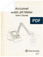 Accumet PH Meter Manual