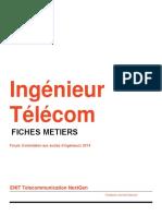 Ingénieur Telecom - Fiches Métiers