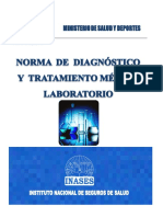 Norma de Diagnostico y Tratamiento de Laboratorio