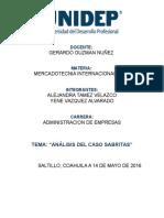 Analisis Del Caso Sabritas