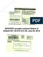 SERVPRO Accepts Registered Mail RE133672214US Default