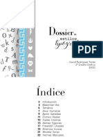 Dossier de estilo tipográficos