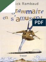 La Grammaire en S_amusant - Patrick Rambaud