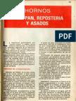 Hornos Para Pan Reposteria y Asados