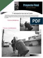 Proyecto Final Fotografía Avanzada. Enrique Sergio Wisar Velazquez