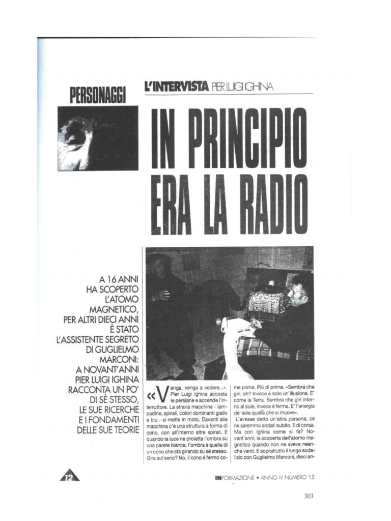 Risultati immagini per ighina In principio era la Radio