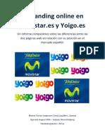 Malene J Rgensen. El Branding Online en Movistar.es y Yoigo.es.