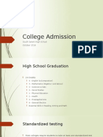 college admission