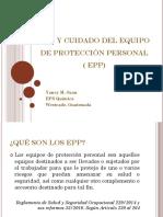 Ppt Uso y Cuidado de Epp Yancy Juan Westrade 2016