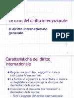 3. Le Fonti Del Diritto Internazionale - Il Diritto Internazionale Generale
