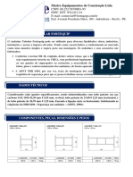 Especificação e Modelo de Montagem Do Andaime