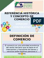 Referencia Histórica y Concepto de Comercio